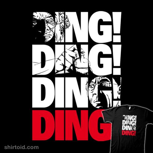 Ding! Ding! Ding!