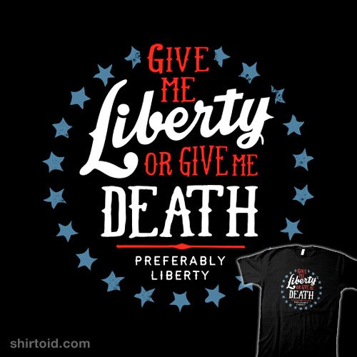what does give me liberty or give me death