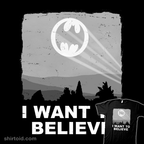 I Want to Believe in a Hero