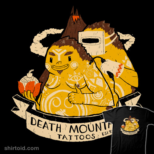 Death Mountain Tattoos
