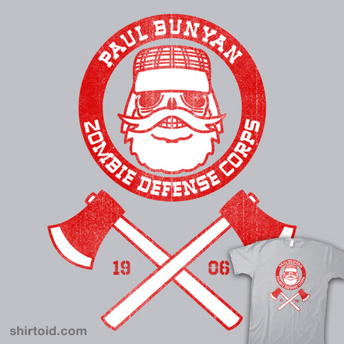 Paul Bunyan Zombie Defense Corps