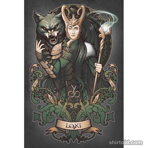 House of Loki: Sons of Mischief art print