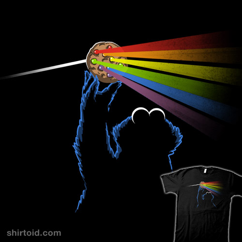 Dark Side of the Rainbow-Chip Cookie