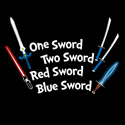 One Sword, Two Sword, Red Sword, Blue Sword