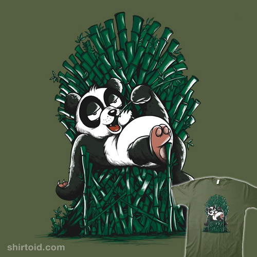 Panda Throne