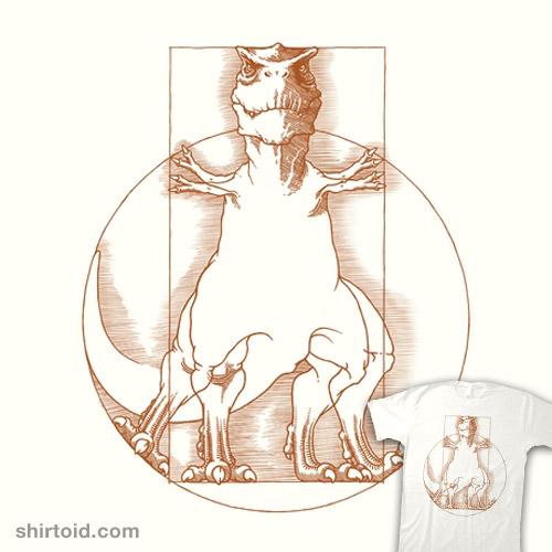 Vitruvian T-Rex