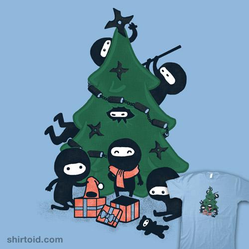 A Very Ninja Christmas | Shirtoid