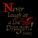 Never Laugh at a Live Dragon