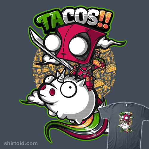 Tacos And Unicorns Shirtoid