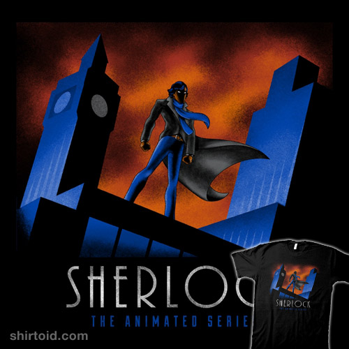 sherlock the animated series shirtoid