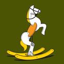 Wild Rocking Horse