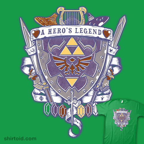 A Hero's Legend Crest