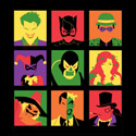 Batvillain Team Pop Art
