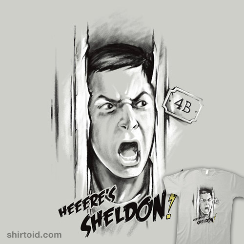 Here's Sheldon!