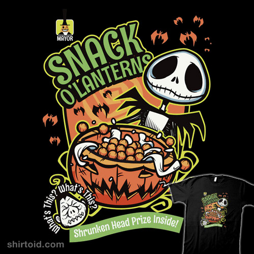 Snack O'Lanterns!