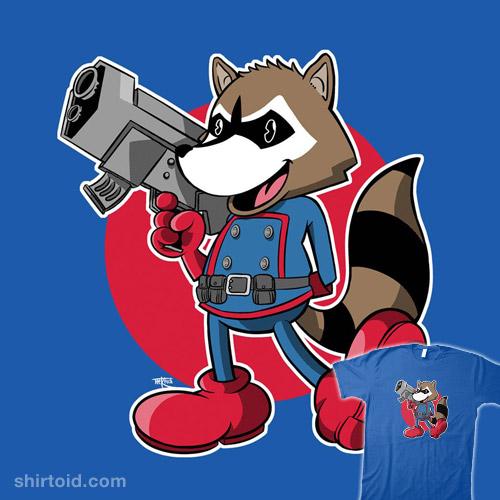 Vintage Raccoon