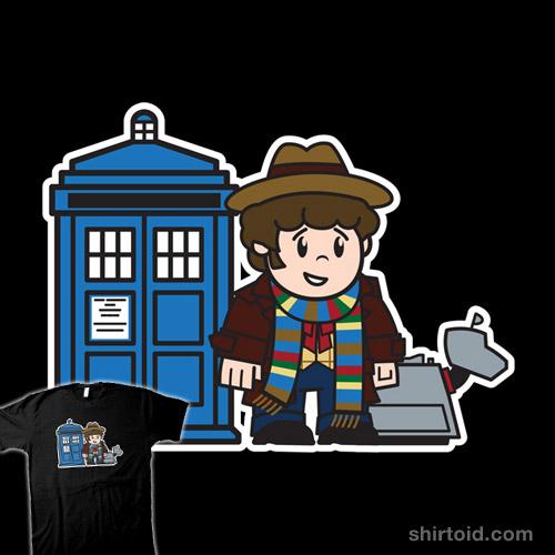 Mitesized 4th Doctor