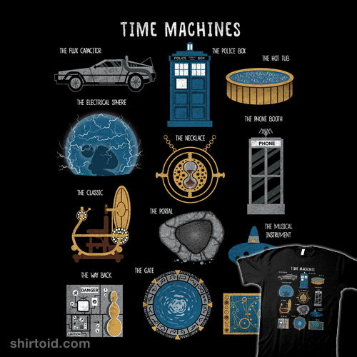 Time Travel Machines Real