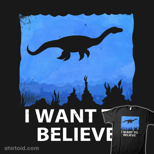 I Want to Believe (in Nessie)