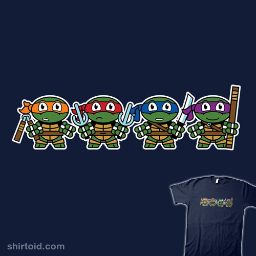 Mitesized Turtles