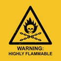 Warning: Highly Flammable