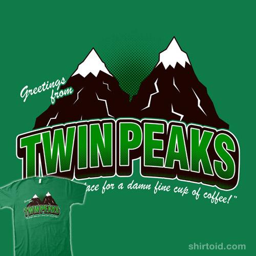 Greetings from Twin Peaks