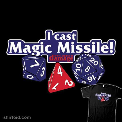 I cast Magic Missile II