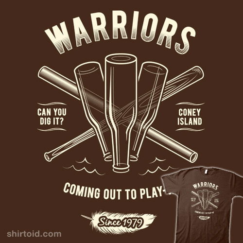 Warriors Movie Come Out And Play: Shirtoid
