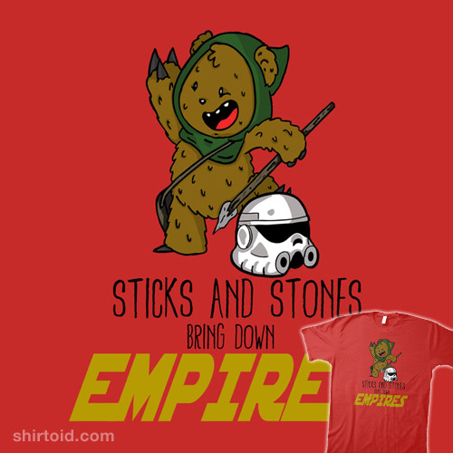 Sticks and Stones…