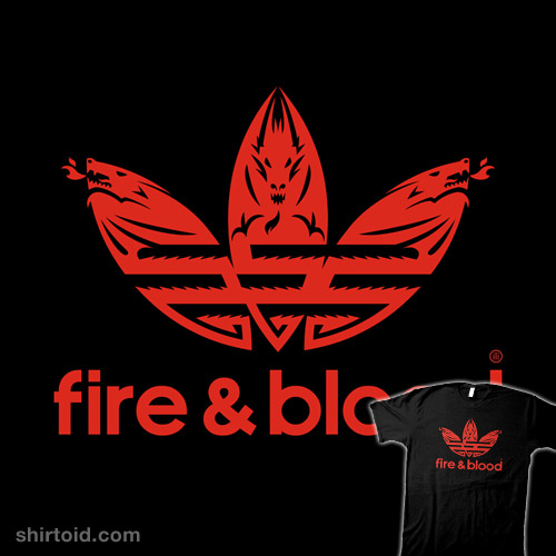 Retro Fire & Blood