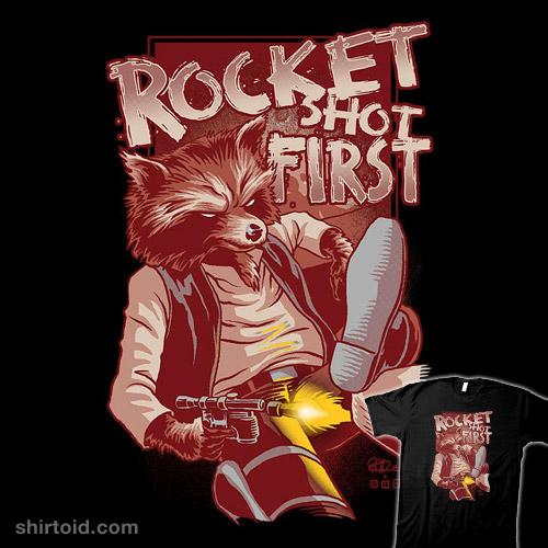 Rocket Shot First
