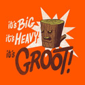 It's big, it's heavy, it's Groot!