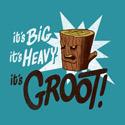 It's big, it's heavy, it's Groot!