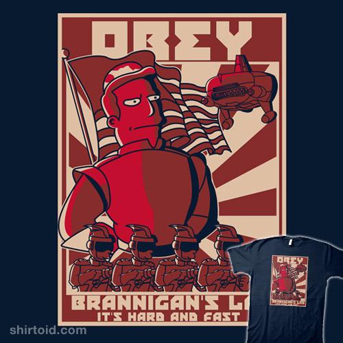 Obey Brannigan