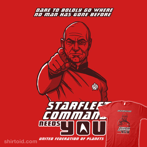 Starfleet Command Needs You