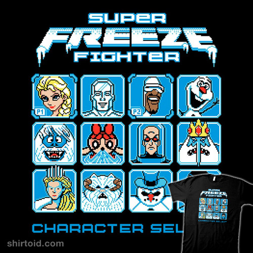 Super Freeze Fighter