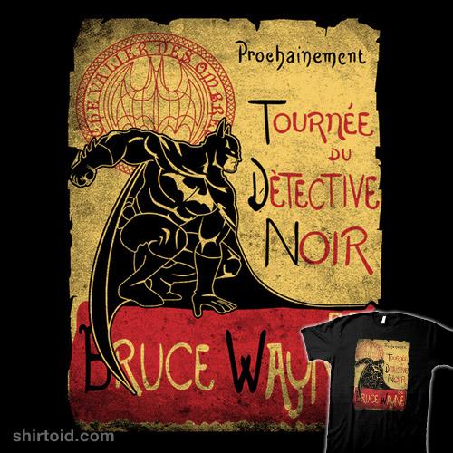 Tournée Du Detective Noir