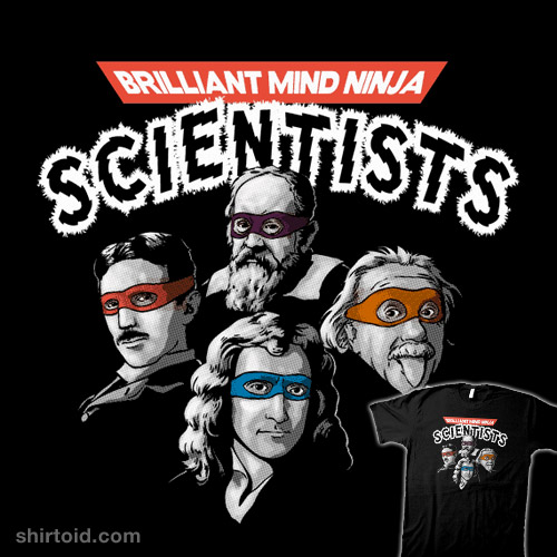 Brilliant Mind Ninja Scientists