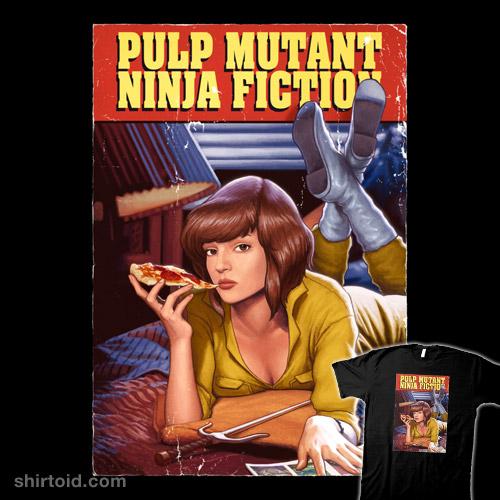 Pulp Mutant Ninja Fiction