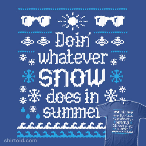 Frozen Winter Sweater