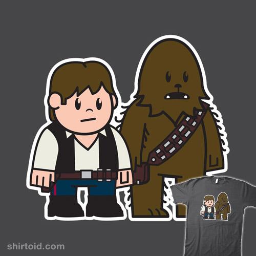 Mitesized Han & Chewie
