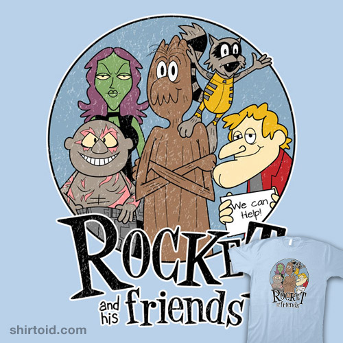 Rocket and His Friends