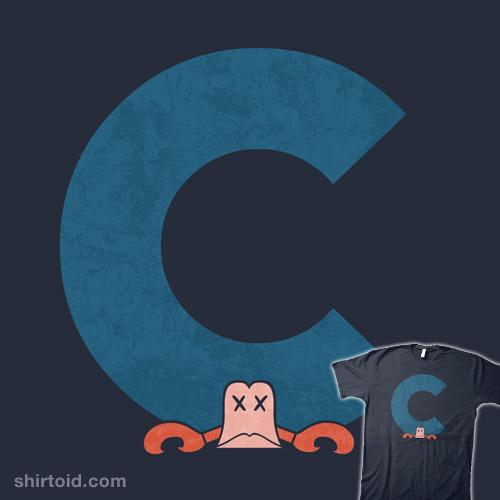 Under the C