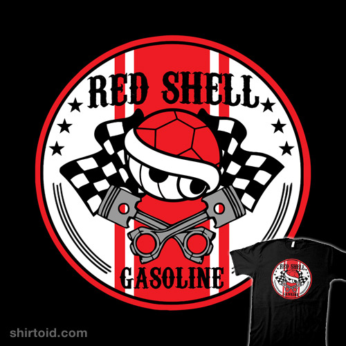 Red Shell Gasoline