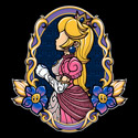 Stained-Glass Peach