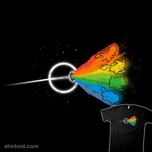 Dark side of the mon shirtoid for Fishing rod pokemon moon