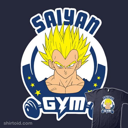 Saiyan Gym Vegeta