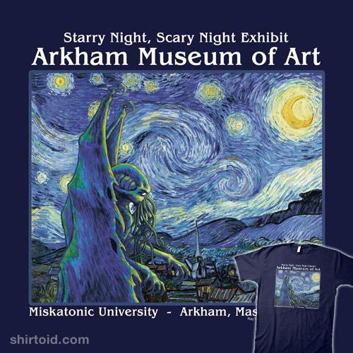 Starry Night Cthulhu