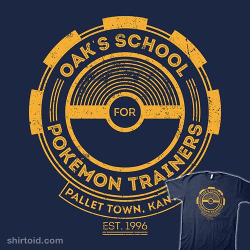 Oak's School for Pokémon Trainers