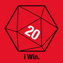 Sheldon's Red D20 Shirt